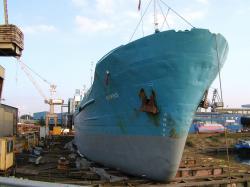 Schiffsentlackung