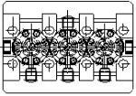 Prototypenzeichnung eines preisgünstigen Hochdruck-Plungerpumpe-Programm für Wasser-Hoch-Druck bis 1000bar bei 7 l/min für den gelegentlichen Bedarf