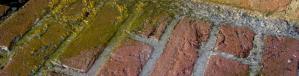 Dank Hochdruck-Wasserstrahlen schonend gereinigt ohne Chemieeinsatz, der Moosbelag hat keine Chance